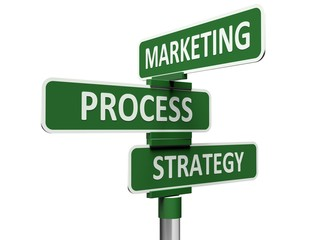 Marketing. 3D. Marketing, Process and Strategy