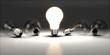 Light Bulb. 3D. Idea