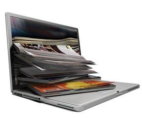 Magazine. 3D. Online Media