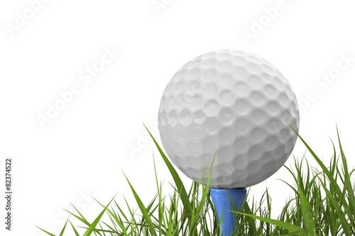 Golf. 3D. Golf Ball Photo by BillionPhotos.com
