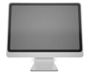 Computer Monitor. 3D. Monitor