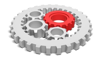Gear. 3D. Gears II
