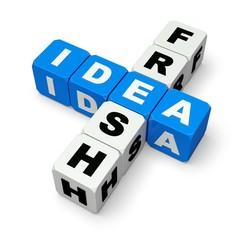 Creativity. 3D. Idea