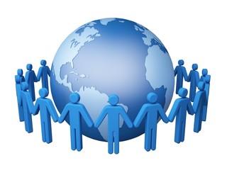 Global Communications. 3D. Global Communications