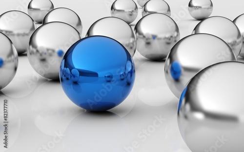 Business. 3D. Leader Concept