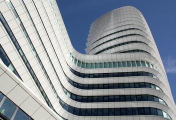 Modern office buildings in the city of Groningen