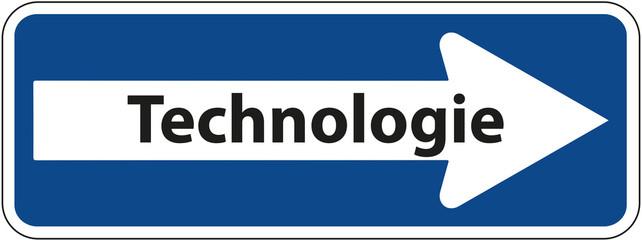 Einbahnstraße - Schild