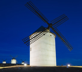 Windmills in Campo de Criptana Spain