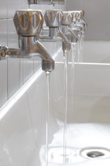 faucets waste water in college