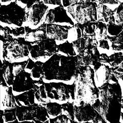 Ancient stone wall  background vector illustratuin