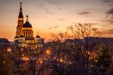 Sunset at Kharkov Ukraine