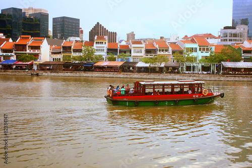 Singapore 50 national day series, SG 50, Singapore River color
