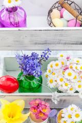 Frühling, Blumen, Ostern