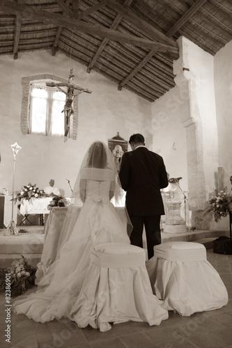 Sposi all'altare Poster