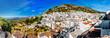 Panorama of white village of Mijas. Spain