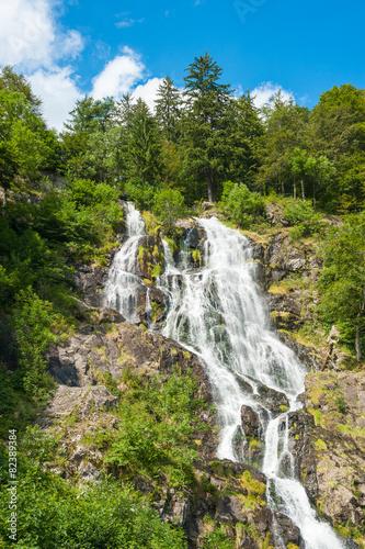 Leinwandbild Motiv Todtnauer Wasserfälle, Todtnau