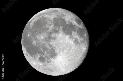 Leinwandbild Motiv luna