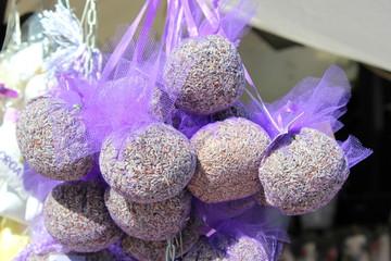 Getrockneter Lavendel in Duftsäckchen