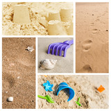 Fototapety composition plage