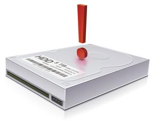 Problem on a hard drive