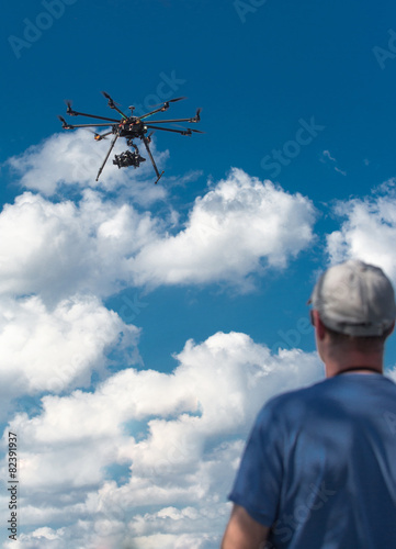 drone, UAV , Multirotor Photography Helicopter - 82391937