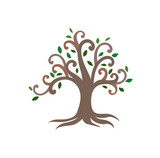 Vector of Tree of life for background poster