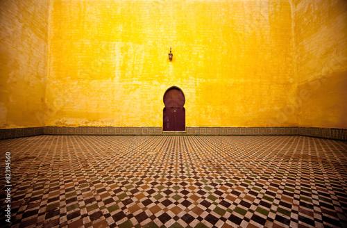 Fotobehang Marokko Arabic door