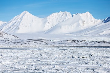 Winter in the Arctic - Svalbard