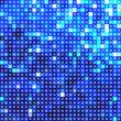 Shiny blue mosaic background