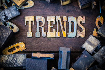 Trends Concept Rusty Type