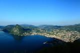 Blick vom Monte Bre auf Lugano