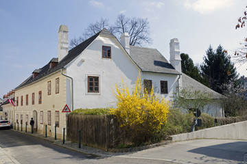 The Beethoven house in Heiligenstadt (Probusgasse) in Vienna