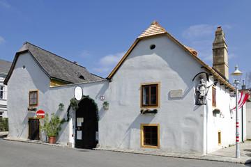 The Beethoven house in Heiligenstadt in Vienna, Austria