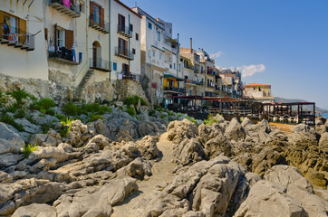 Case sul mare a Cefalù
