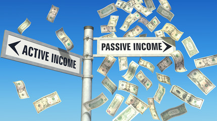 Earn more through passive income