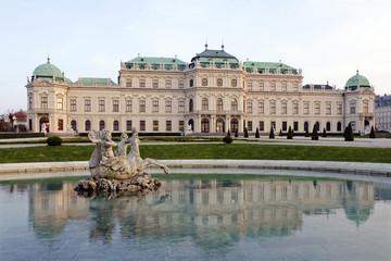 The Upper Belvedere in Vienna, Austria