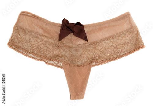 beige panties - 82412161