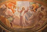 Rzym - Przemienienie na fresku na zamku Tabor