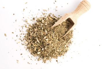 Dry mate tea, isolated on white © joanna wnuk