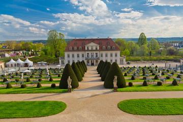 Weingut und Schloss Wackerbarth in Radebeul bei Dresden