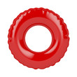Leinwandbild Motiv Red swim ring