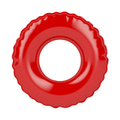 Red swim ring