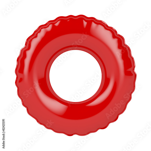 Red swim ring - 82421391