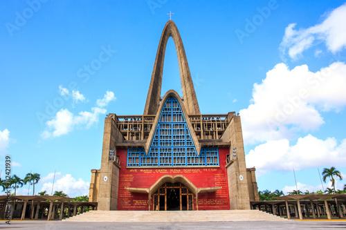 Foto op Plexiglas Bedehuis Basilica la Altagracia in Dominican Republic
