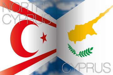 cyprus vs north cyprus flags
