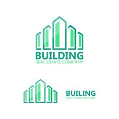 Vector logo for construction company