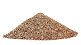 Hill small granite gravel