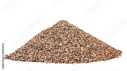 canvas print picture Hill small granite gravel