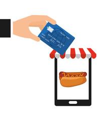 fast food commerce