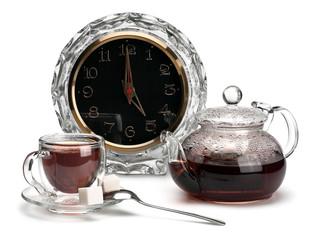 "Time to drink tea ""Five o'clock Tea"""
